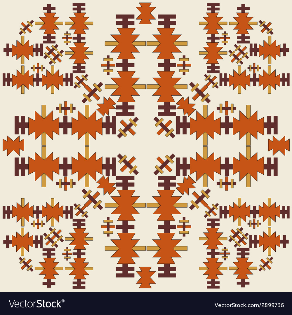 Oriental style seamless pattern eighteen vector | Price: 1 Credit (USD $1)