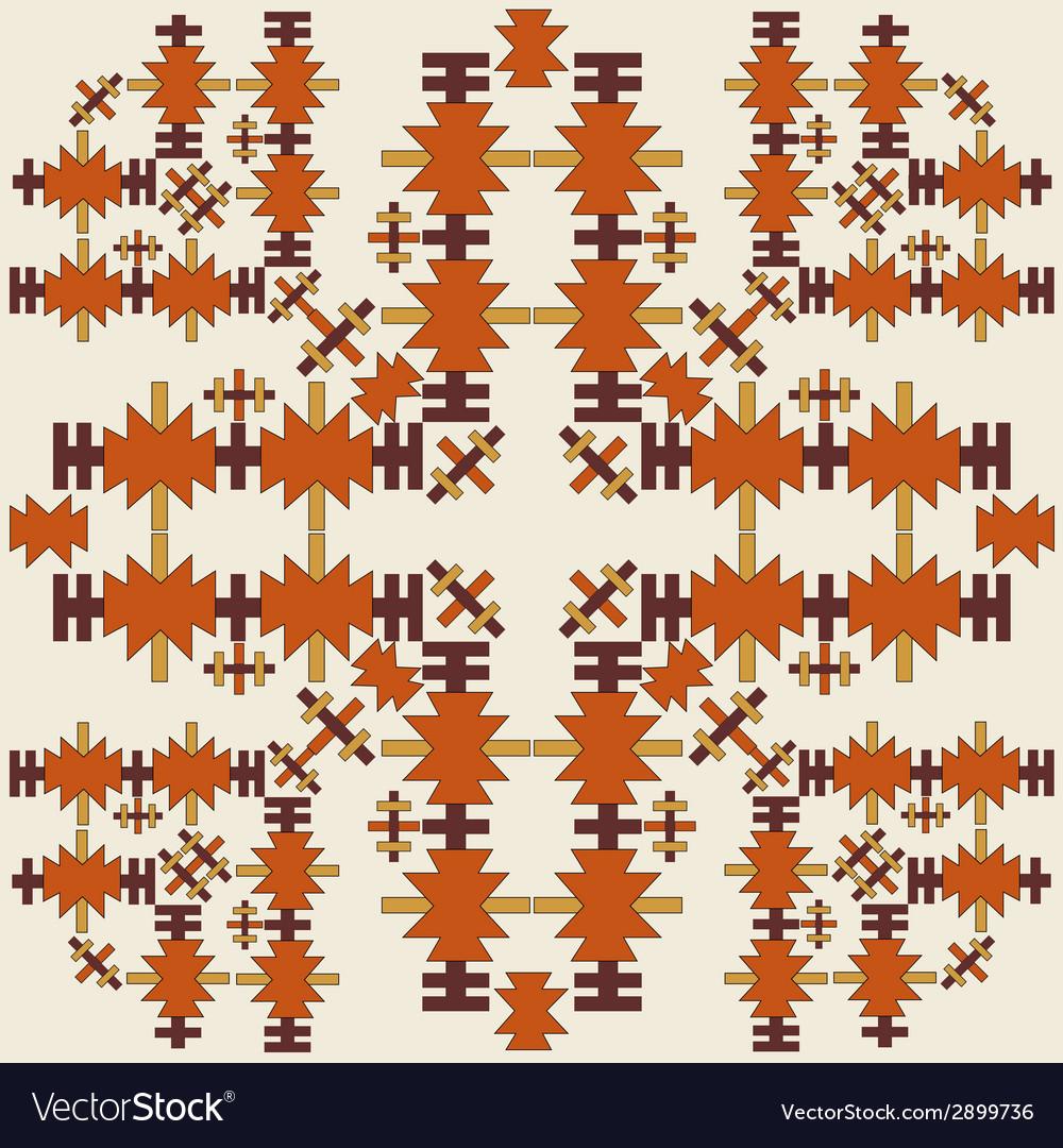 Oriental style seamless pattern eighteen vector | Price: 1 Credit (USD $1)