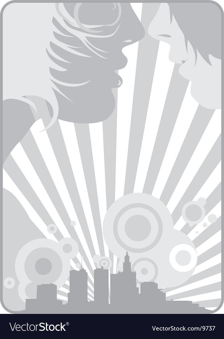 City scape vector | Price: 1 Credit (USD $1)