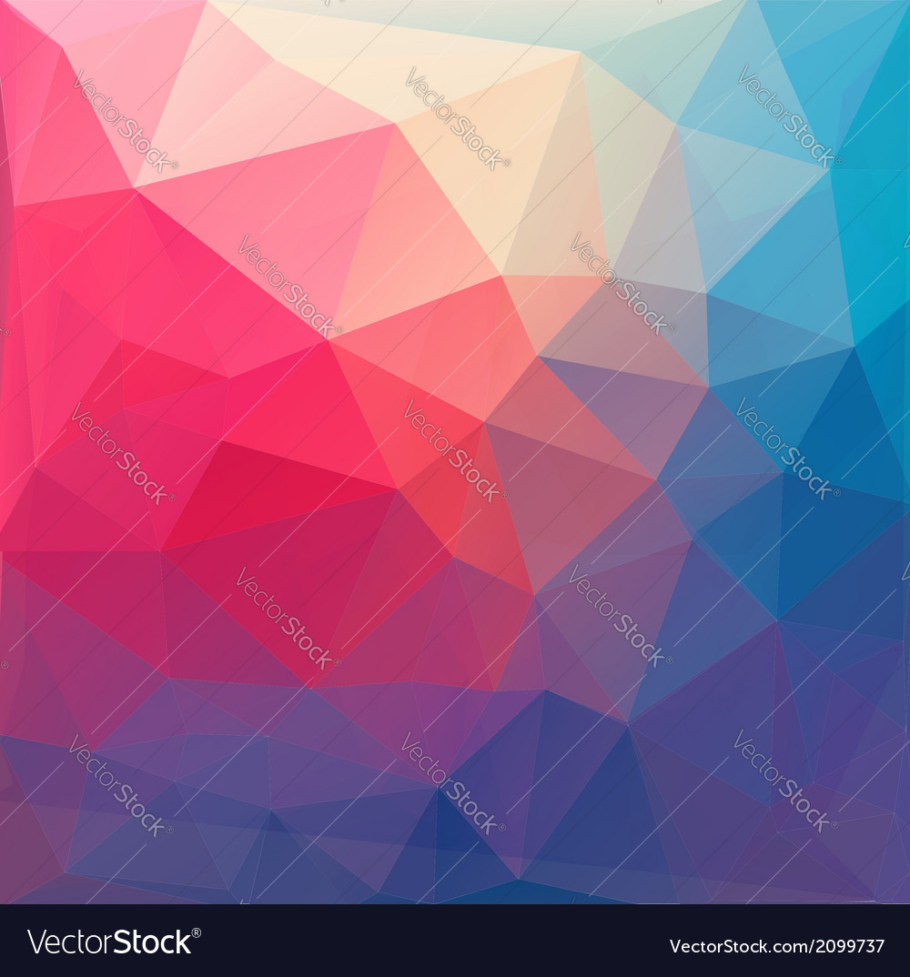 Polygon abstract background vector   Price: 1 Credit (USD $1)