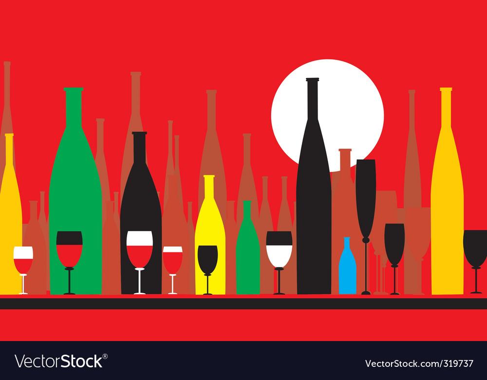 Wine parlour vector | Price: 1 Credit (USD $1)
