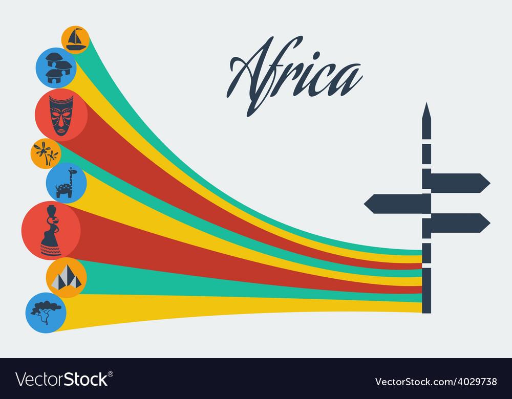 African safari vector | Price: 1 Credit (USD $1)