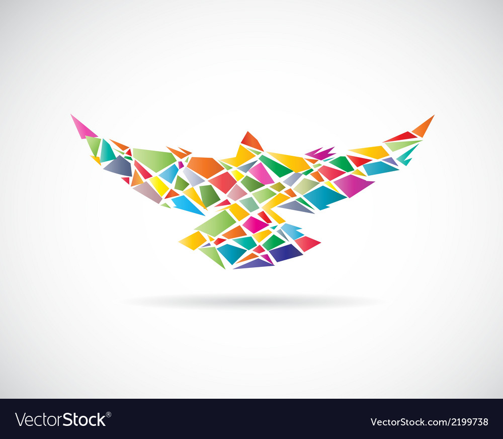 Bird abstract 2 vector | Price: 1 Credit (USD $1)