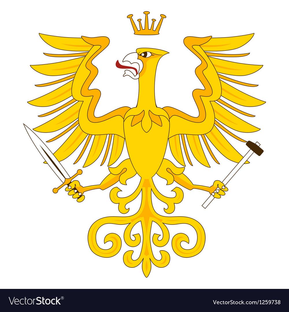 Heraldic eagle 18 vector | Price: 1 Credit (USD $1)