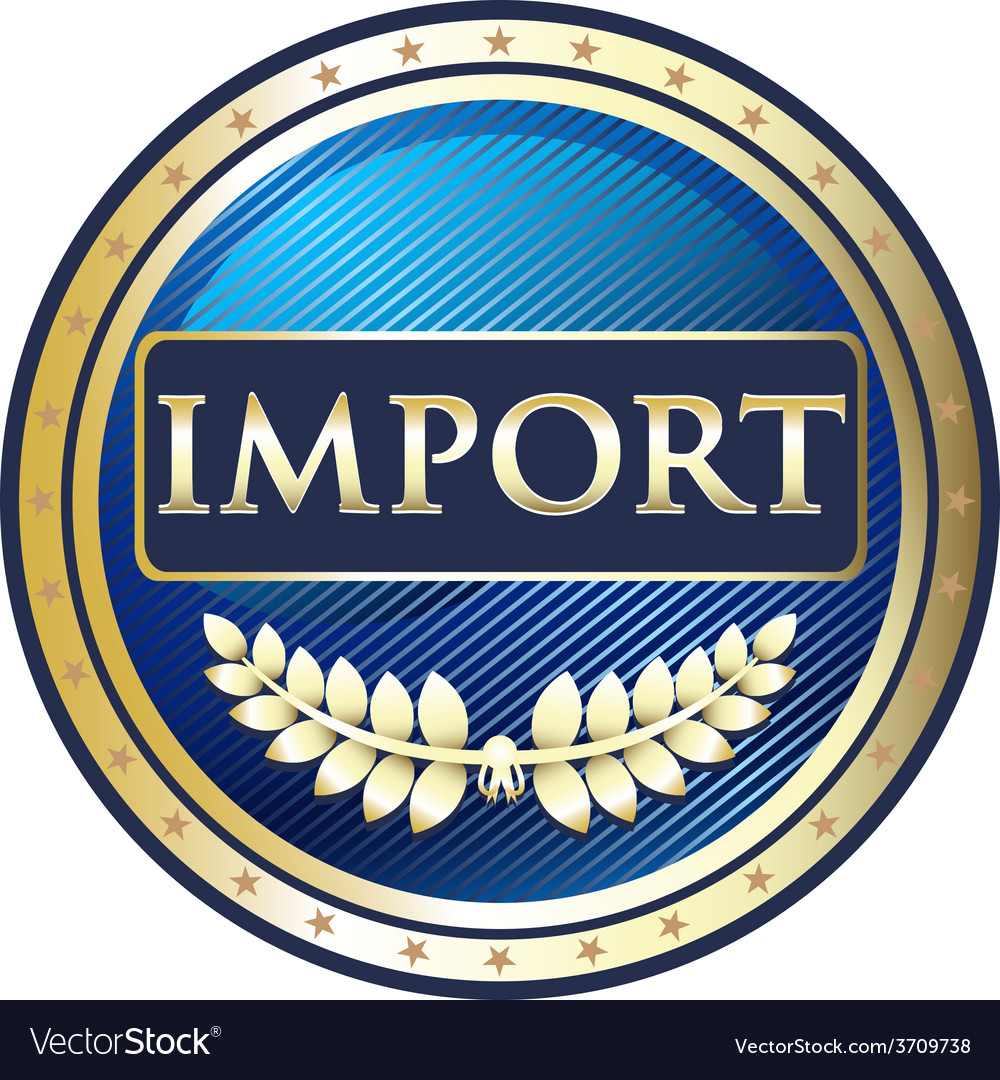 Import label vector | Price: 1 Credit (USD $1)
