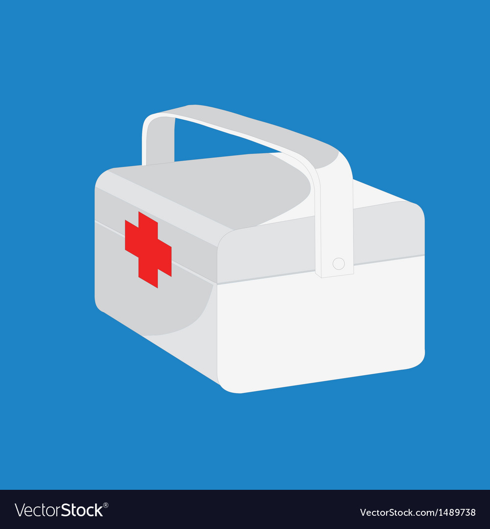 Medical box vector | Price: 1 Credit (USD $1)