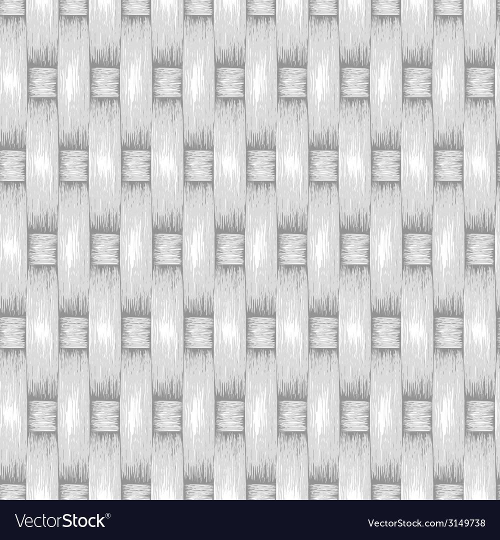 Wicker seamless background wooden basket textured vector | Price: 1 Credit (USD $1)