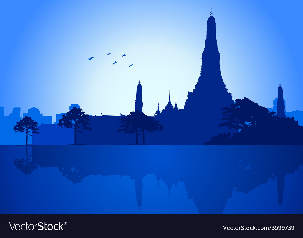 Bangkok vector | Price: 1 Credit (USD $1)