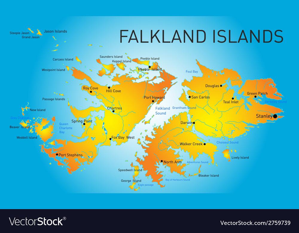 Falkland islands vector   Price: 1 Credit (USD $1)