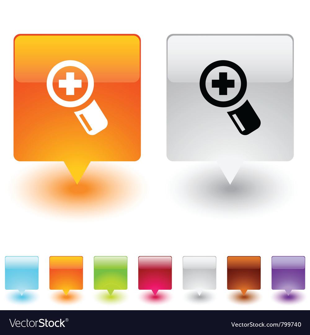Add square button vector   Price: 1 Credit (USD $1)