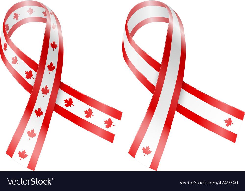 Flag ribbon vector | Price: 1 Credit (USD $1)