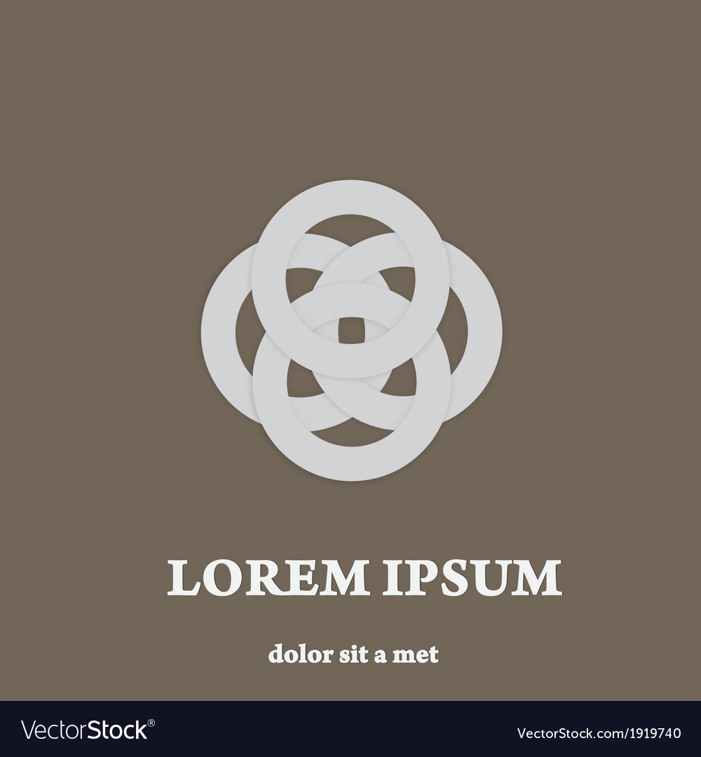 Luxury symbol stylish sign creative icon vector | Price: 1 Credit (USD $1)