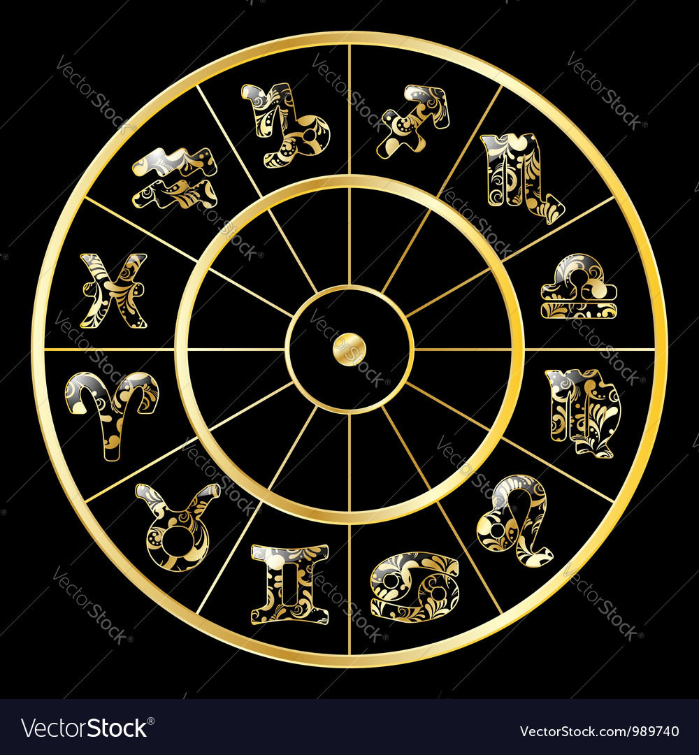 Zodiac signs vector | Price: 1 Credit (USD $1)
