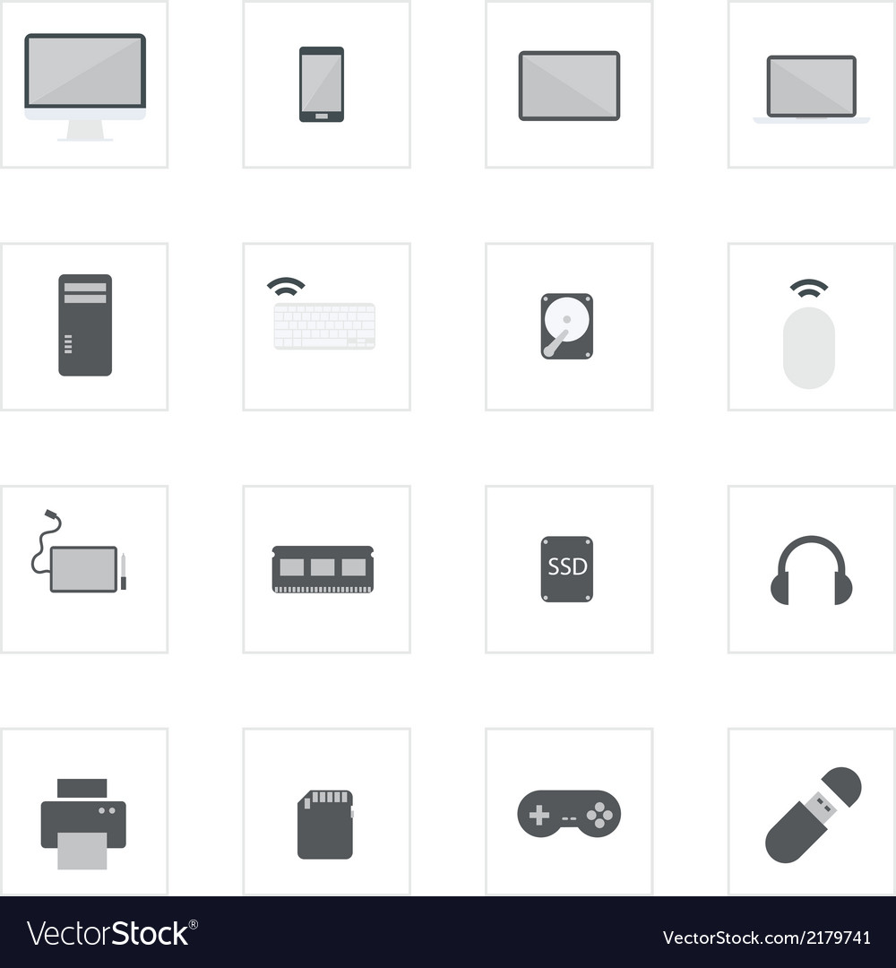 Icon computerdevice vector | Price: 1 Credit (USD $1)