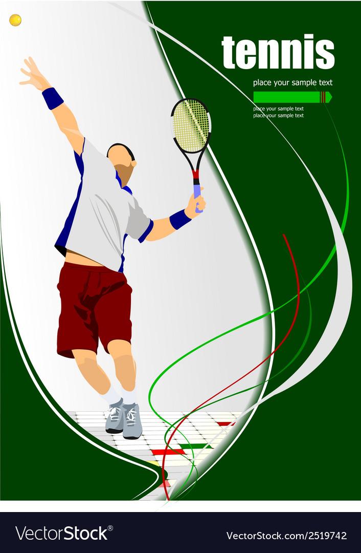 Al 0322 tennis vector | Price: 1 Credit (USD $1)