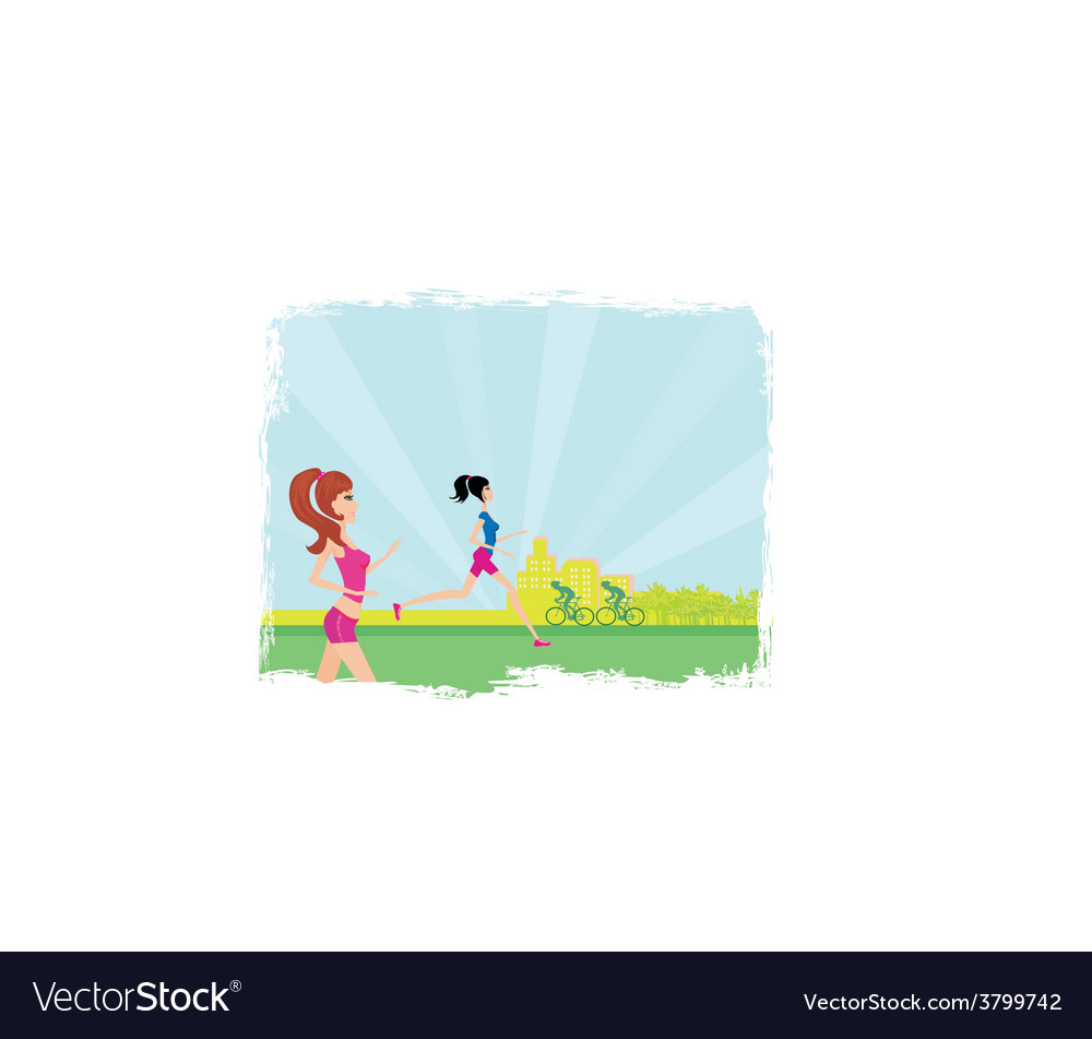Relax in the park vector   Price: 1 Credit (USD $1)