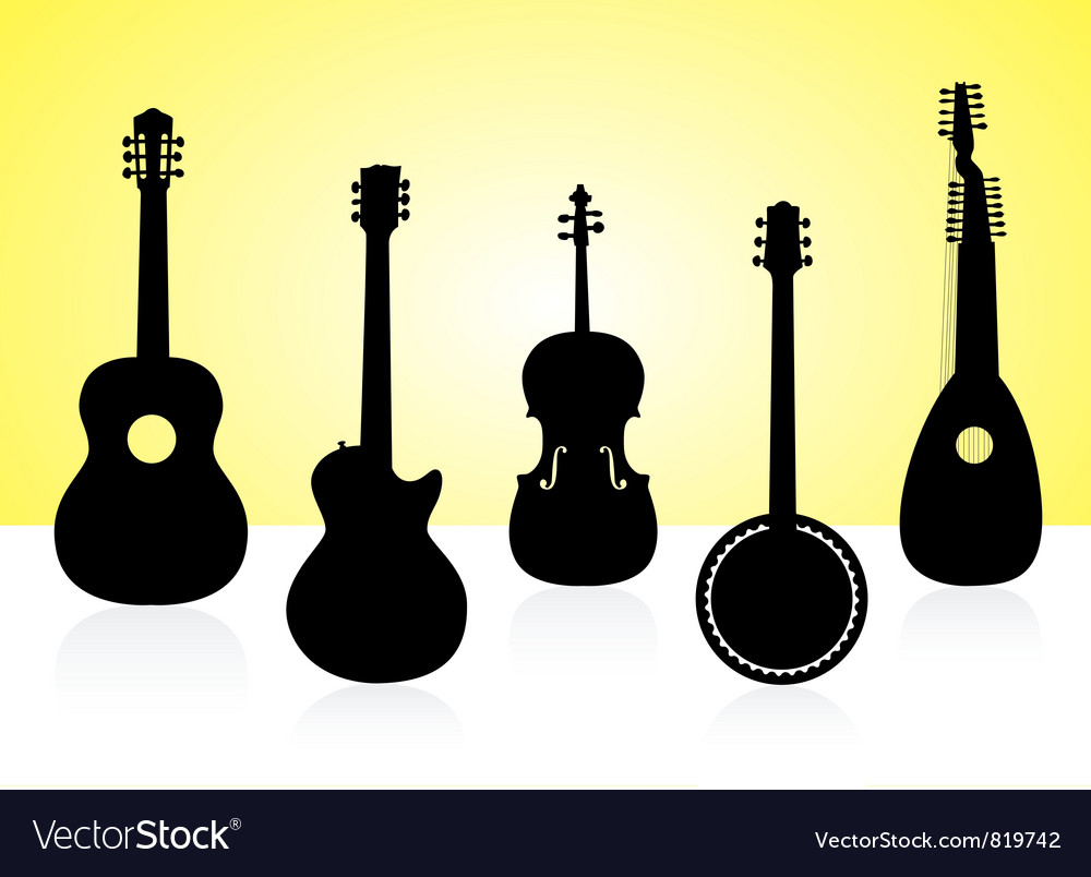 String instruments vector | Price: 1 Credit (USD $1)