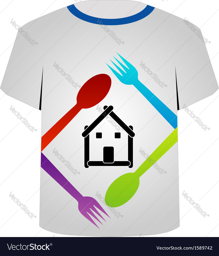 T shirt template- food lover vector | Price: 1 Credit (USD $1)