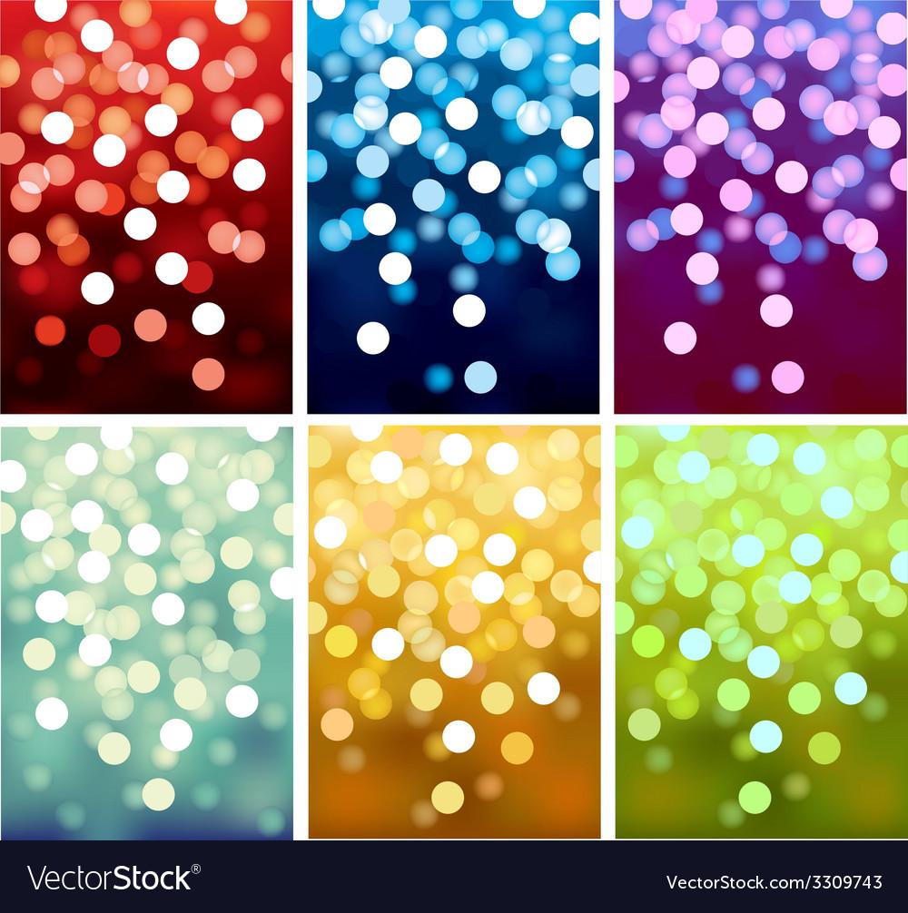 Defocused lights vector | Price: 1 Credit (USD $1)