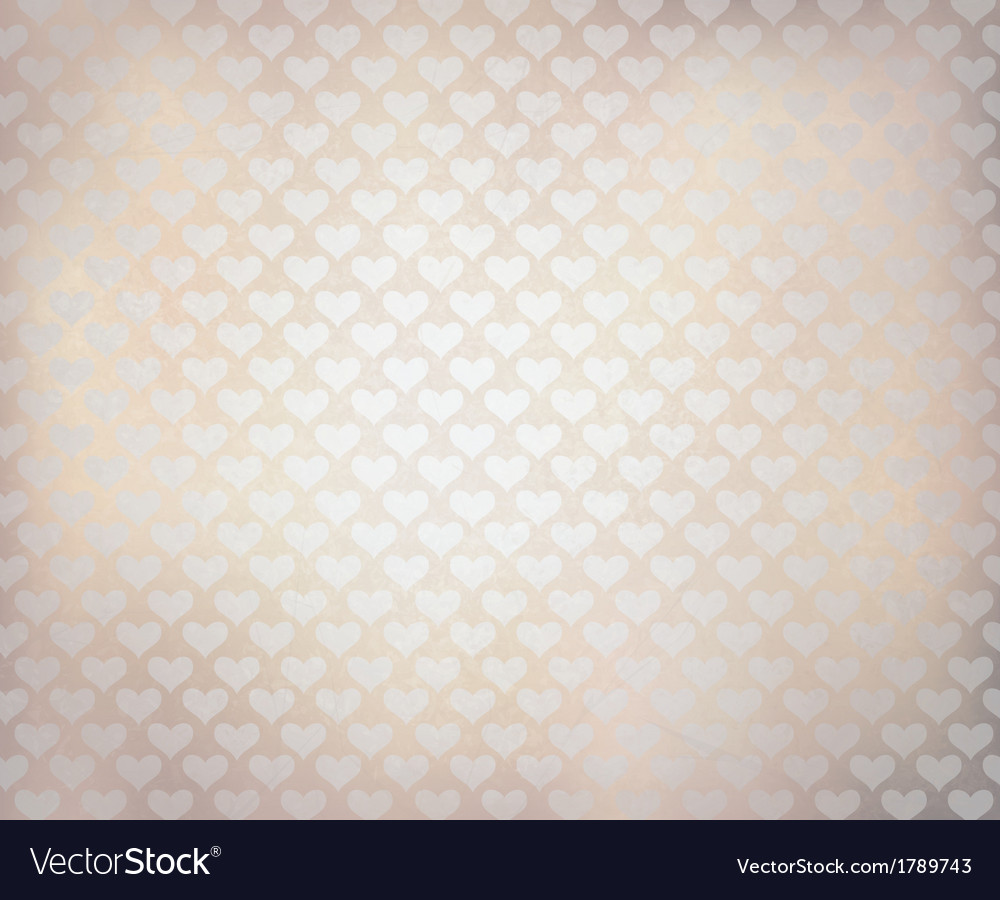 White hearts texture vector | Price: 1 Credit (USD $1)