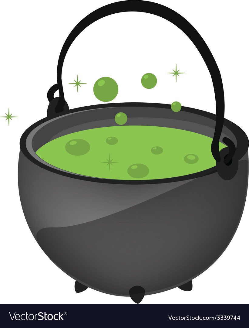 Magic kettle vector | Price: 1 Credit (USD $1)