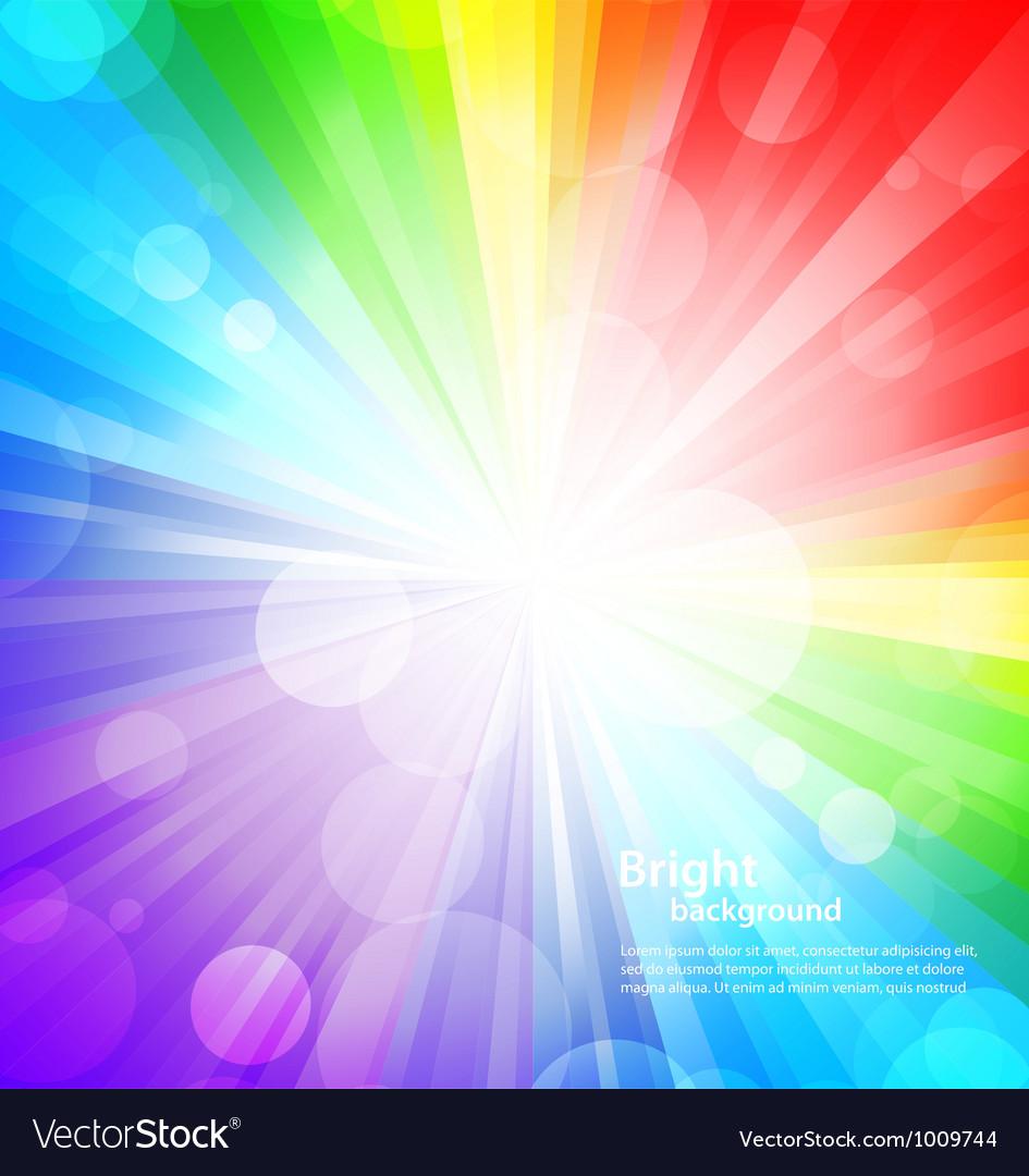 Rainbow background vector | Price: 1 Credit (USD $1)