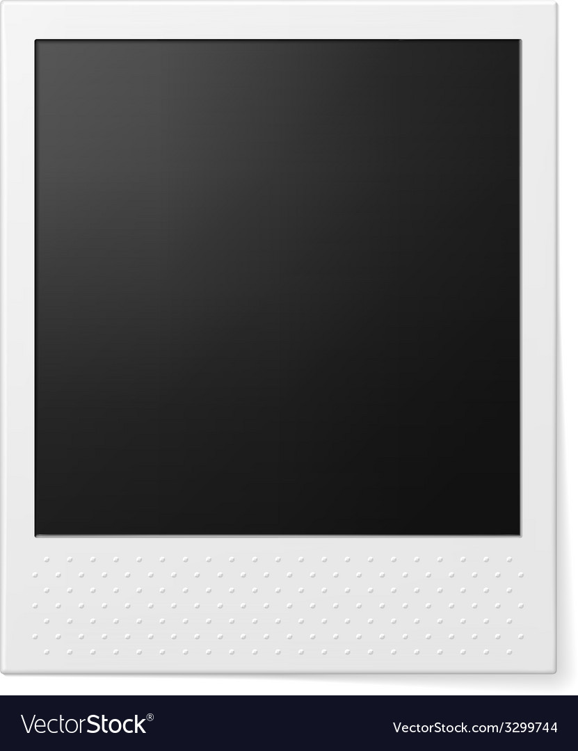 Retro photo frame vector | Price: 1 Credit (USD $1)