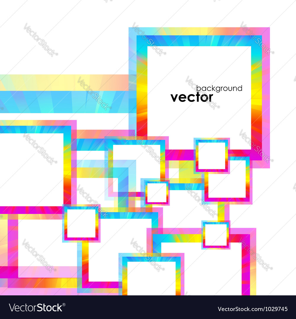 Abstract frames background vector | Price: 1 Credit (USD $1)