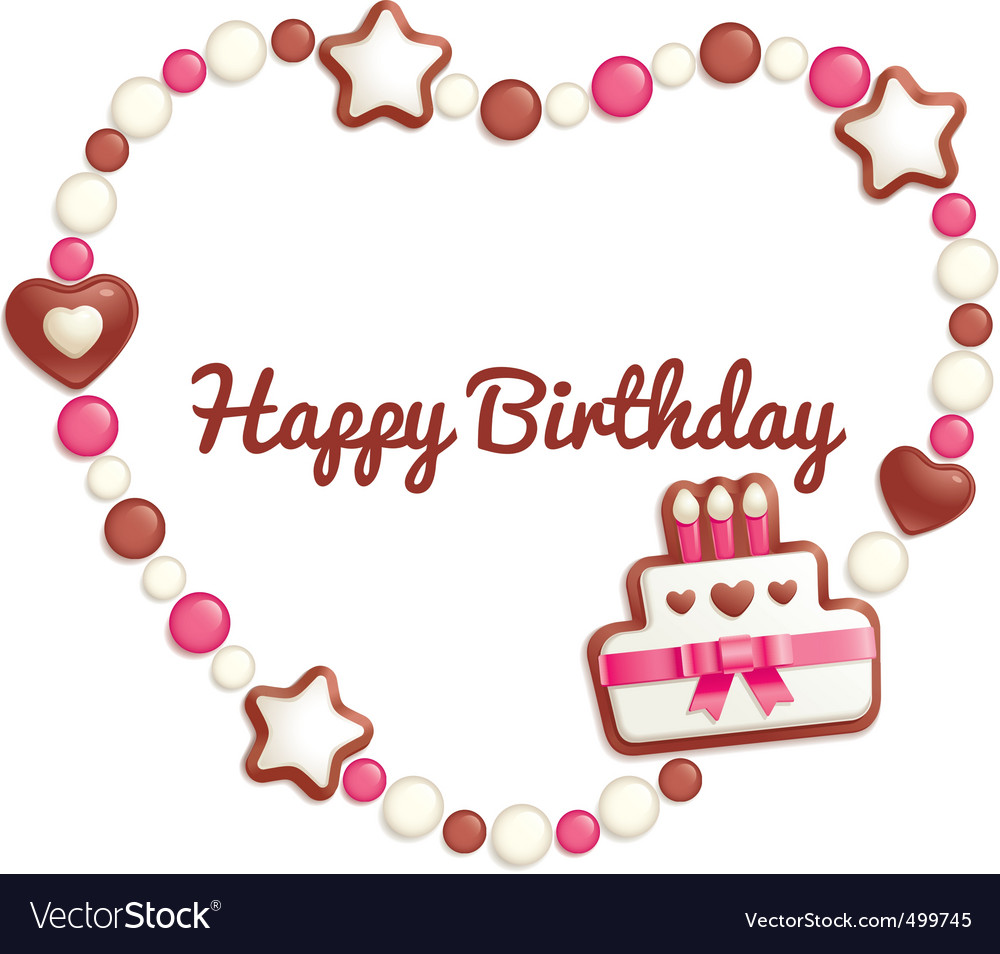 Birthday candy vector | Price: 1 Credit (USD $1)