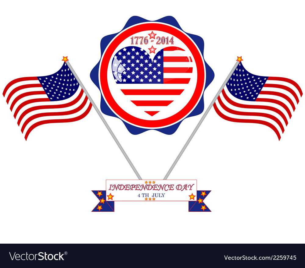 Independence holiday vector | Price: 1 Credit (USD $1)