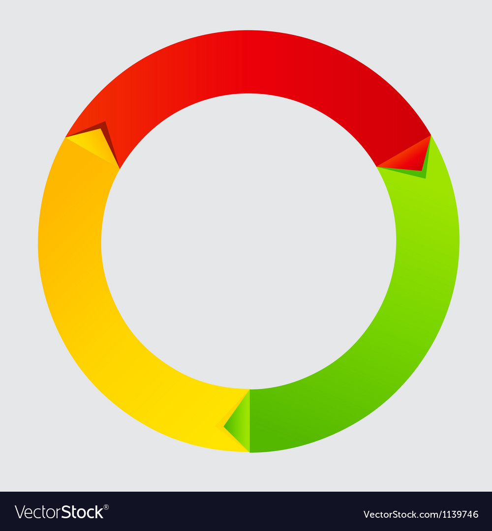 Concept of colorful time wheel vector | Price: 1 Credit (USD $1)