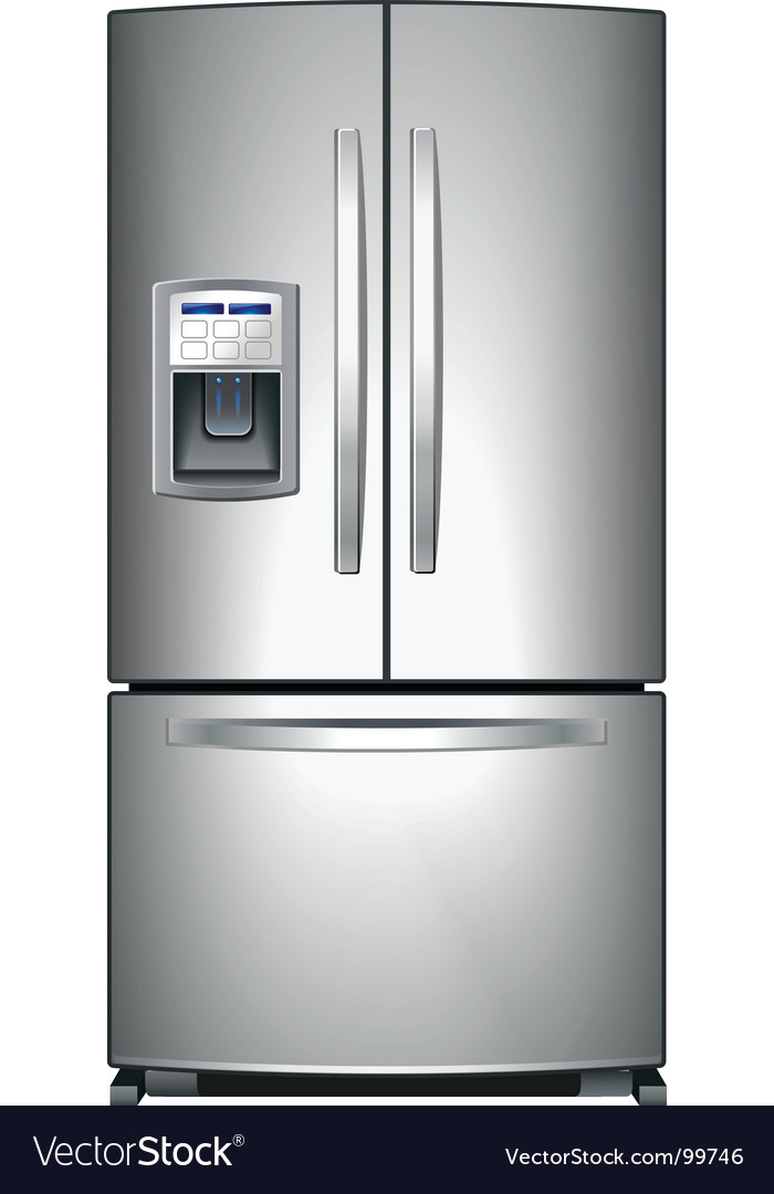 Refrigerator vector | Price: 1 Credit (USD $1)
