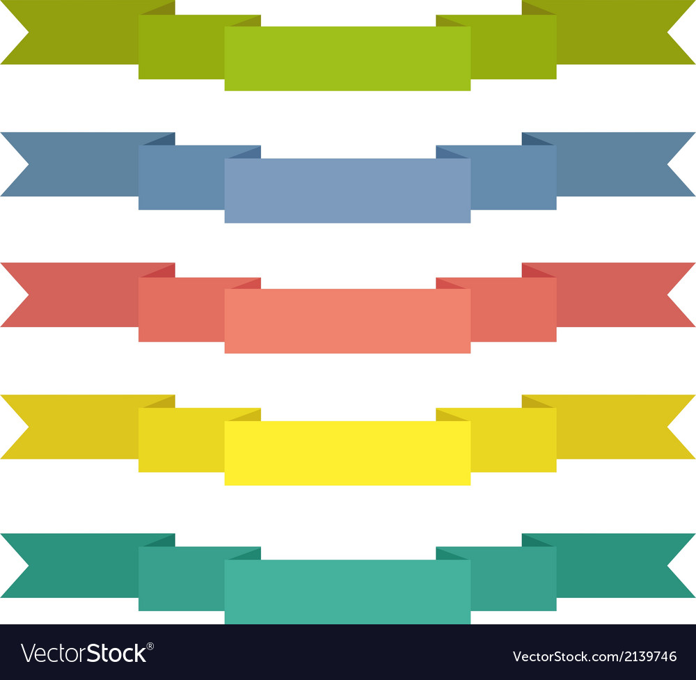 Vintage ribbon banner vector | Price: 1 Credit (USD $1)
