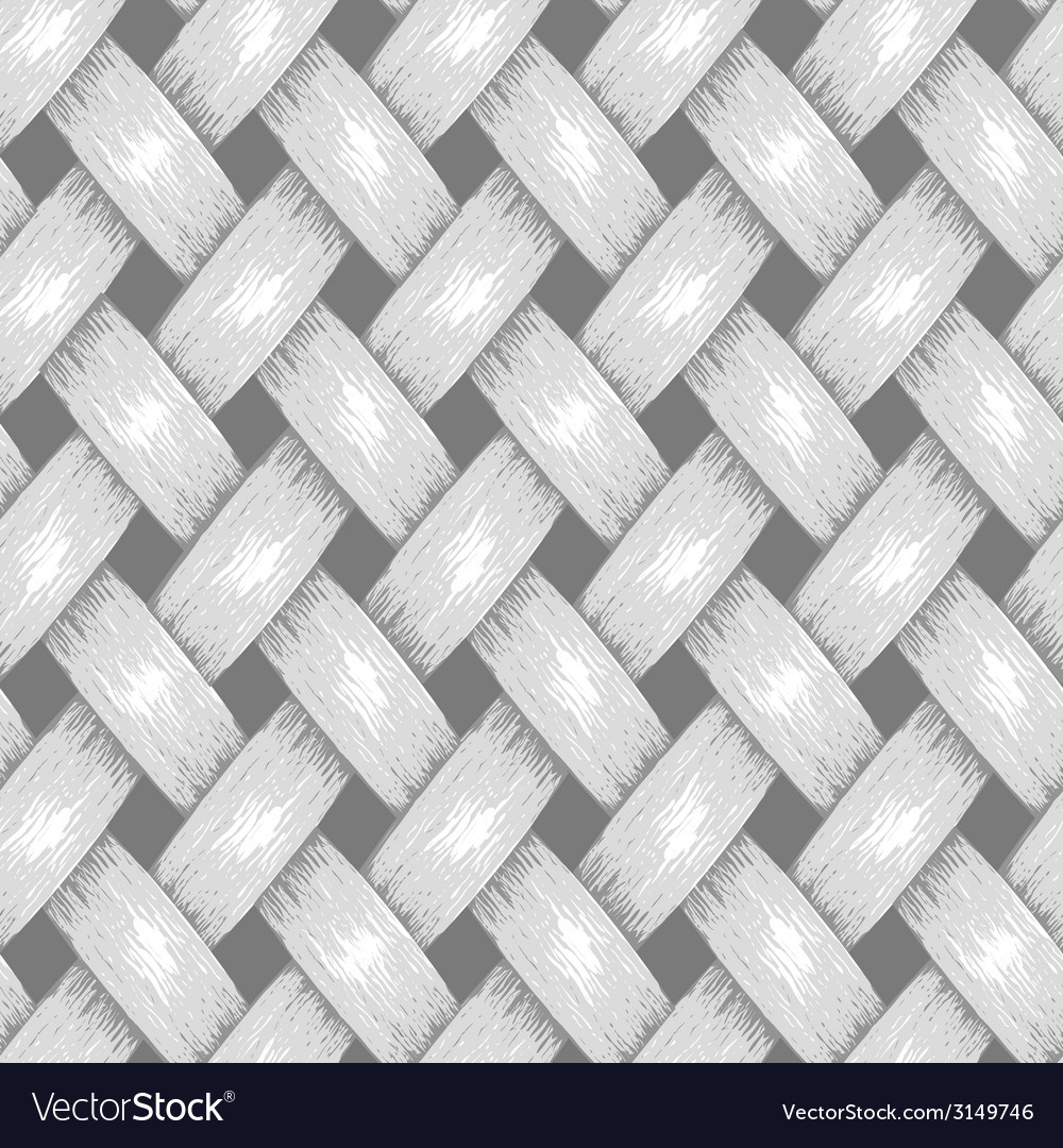 Wicker seamless background wooden basket textured vector | Price: 1 Credit (USD $1)