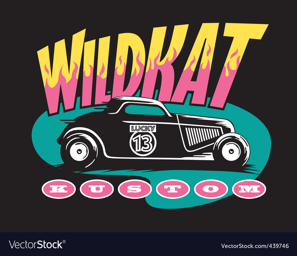 Wildcat custom vector | Price: 1 Credit (USD $1)