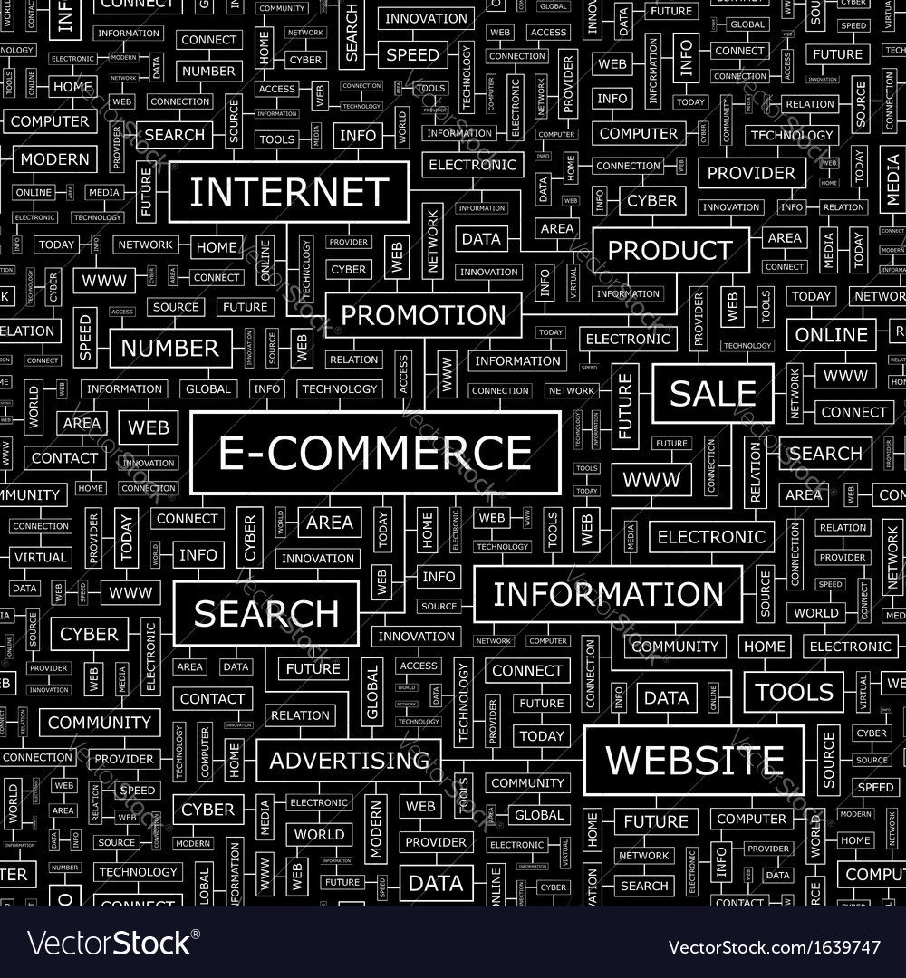 E commerce vector | Price: 1 Credit (USD $1)