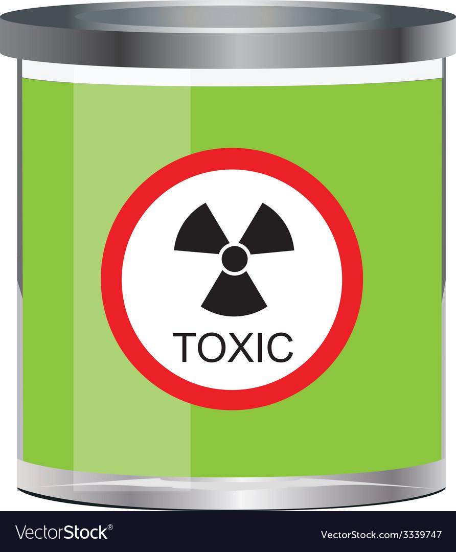 Poison toxic symbol vector | Price: 1 Credit (USD $1)