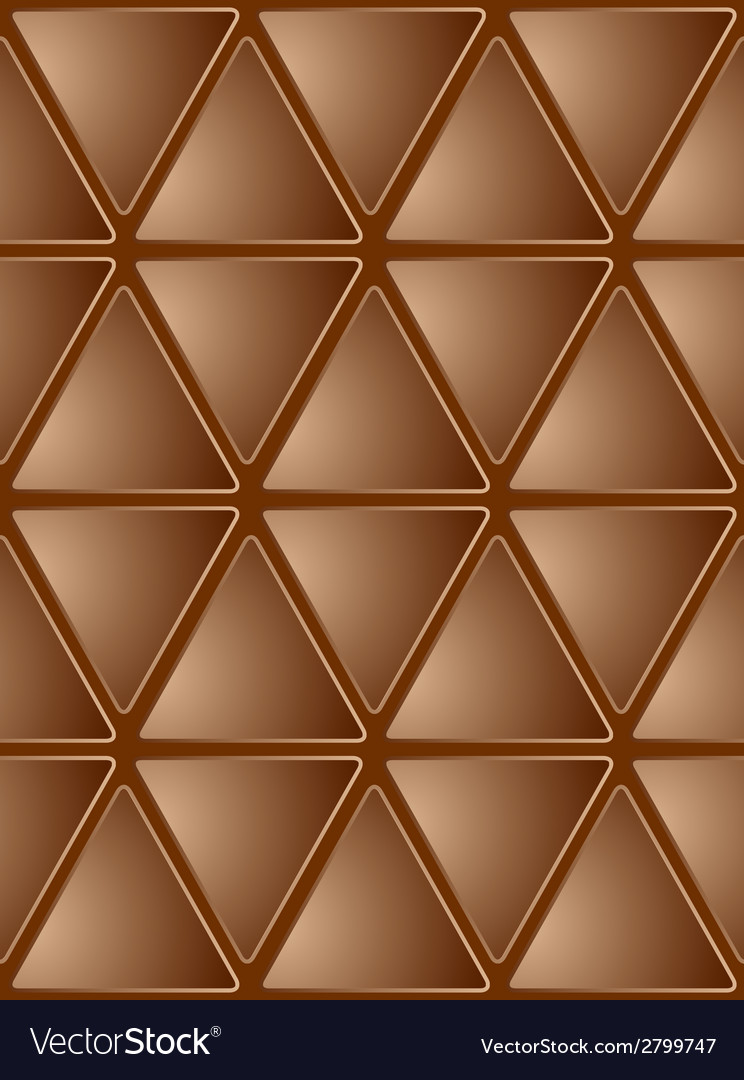 Seamless brown mosaic background vector | Price: 1 Credit (USD $1)