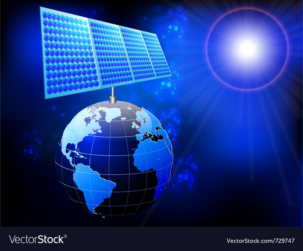Solar panel vector | Price: 3 Credit (USD $3)