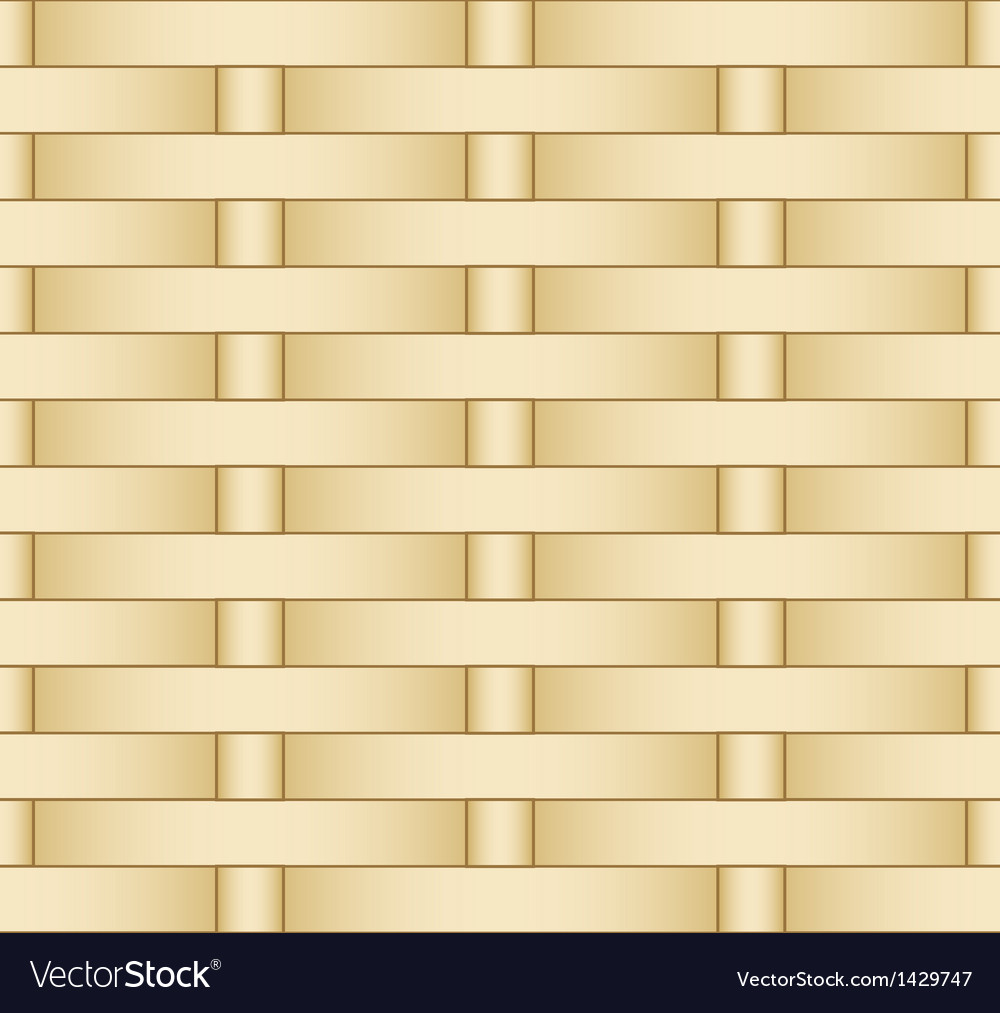 Straw weaving as seamless background vector | Price: 1 Credit (USD $1)