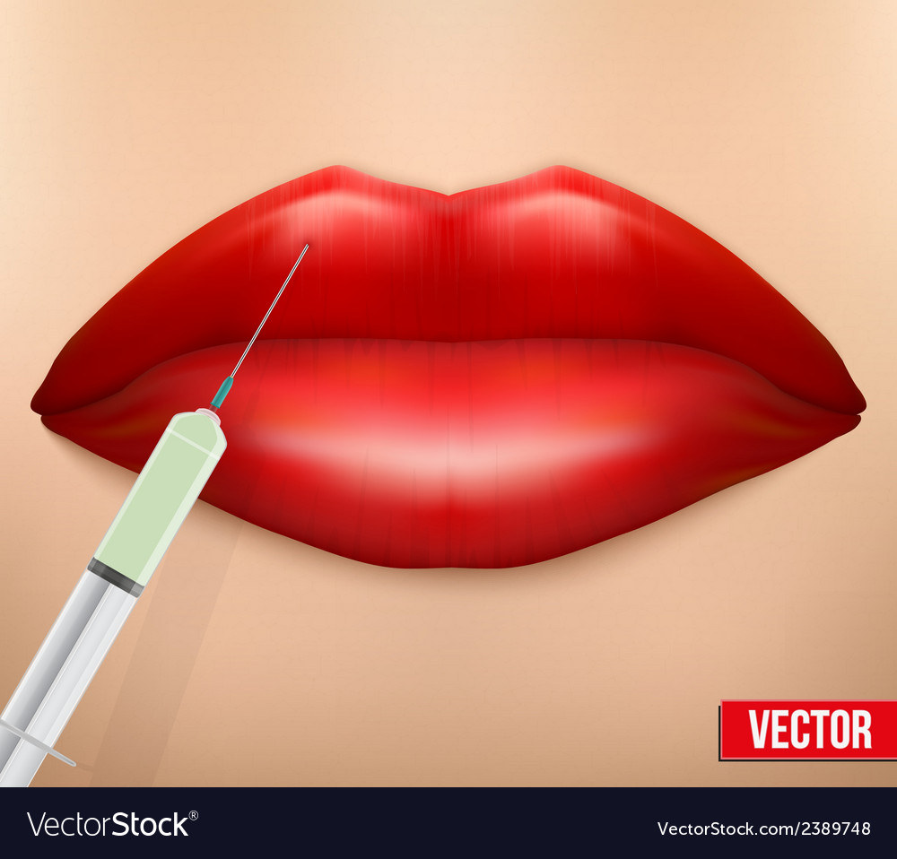 A botox injection vector | Price: 1 Credit (USD $1)