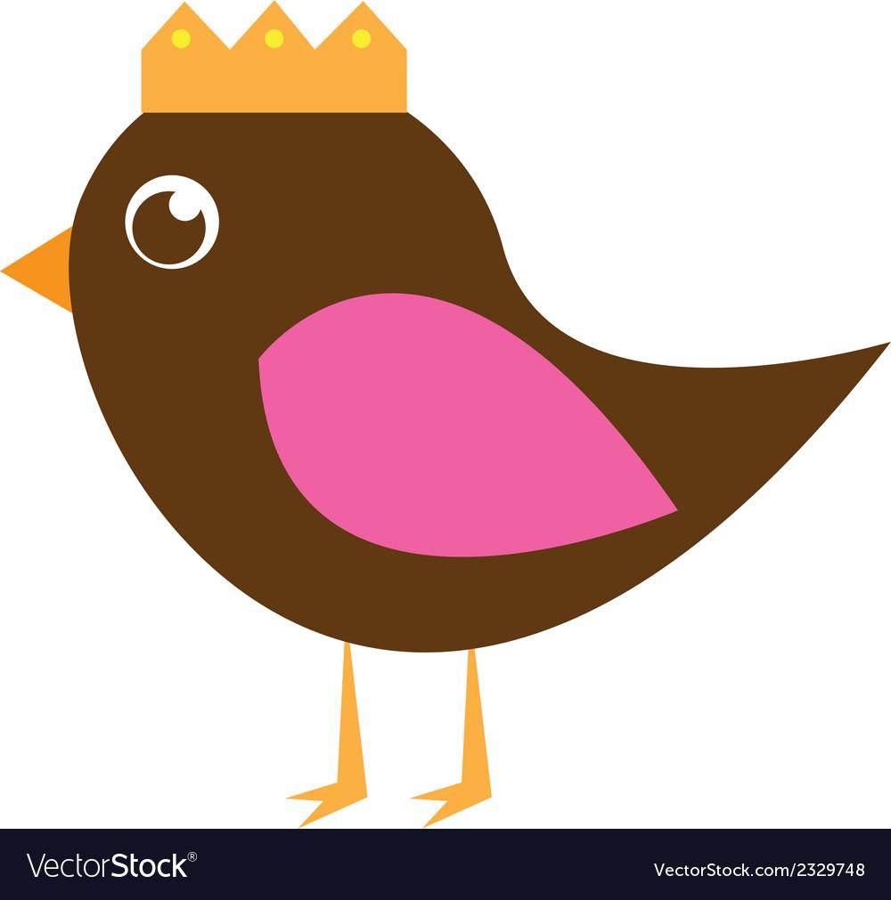 Cute bird vector | Price: 1 Credit (USD $1)