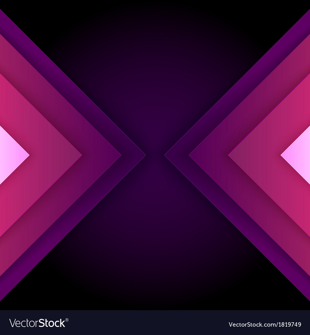 Abstract purple triangle shapes background vector | Price: 1 Credit (USD $1)