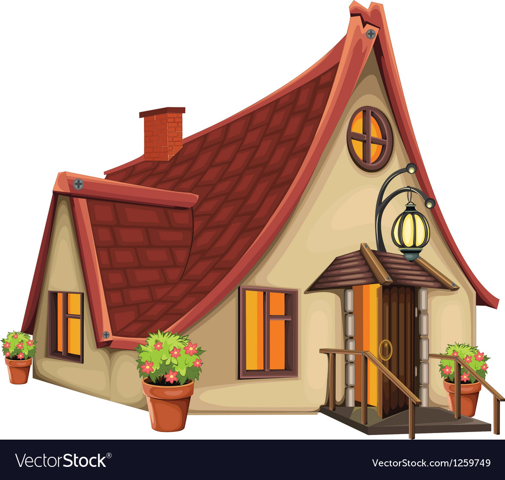 Fantasy house vector | Price: 3 Credit (USD $3)