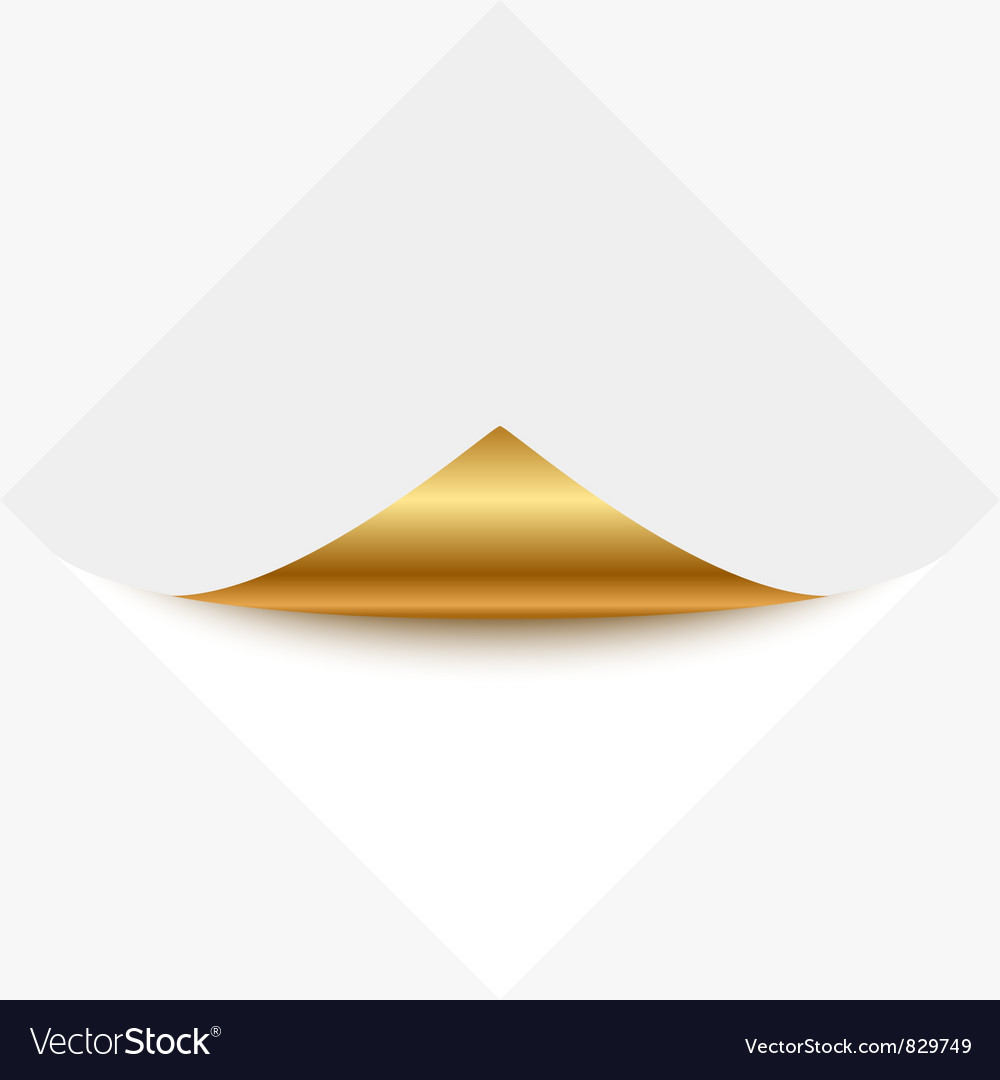 Gold memo vector | Price: 1 Credit (USD $1)
