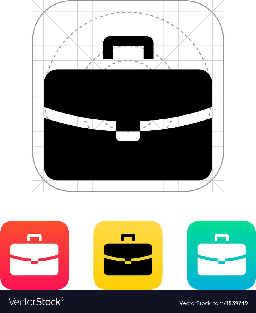 Handbag icon vector   Price: 1 Credit (USD $1)