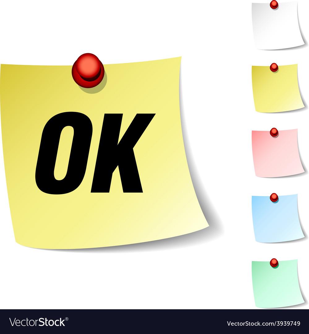 Ok icon vector   Price: 1 Credit (USD $1)