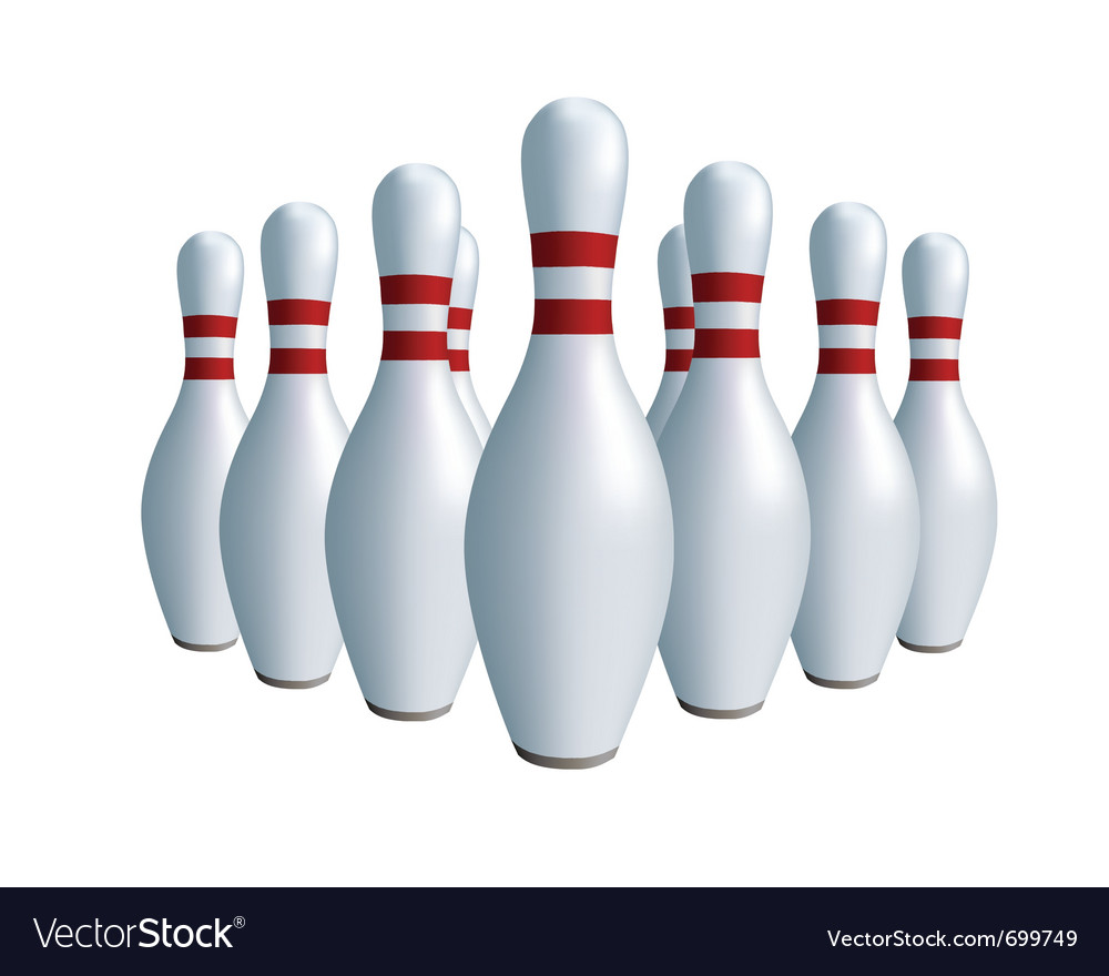 Sports game bowling vector | Price: 1 Credit (USD $1)