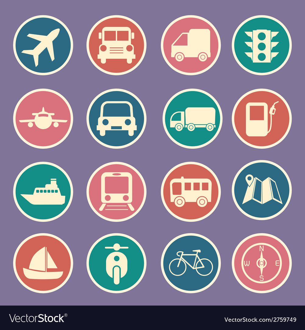 Transport icon vector | Price: 1 Credit (USD $1)