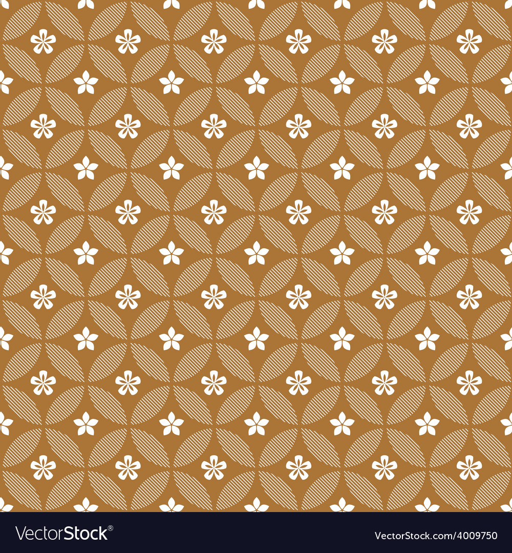 Intricate colorful pattern of flowers vector | Price: 1 Credit (USD $1)